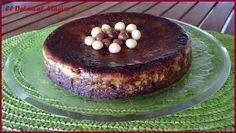 El Delantal Mágico: Flan de magdalenas de chocolate (microondas)