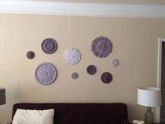 Ceiling Medallion Wall Art ceiling-medallian-wall-art, i have this wallpaper already hung