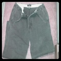 SALE..SALE..🤑🤑Ambercrombie & Fitch cargos Brown colored, size 36 regular cargo style pants made by Abercrombie & Fitch. These pants have button up fly as well as tie waist. Could be worn casually or dress up. These look awfully good on any man. Will trade. Excellent excellent condition. Abercrombie & Fitch Pants Trousers