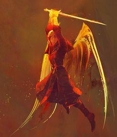 Warlock Dawnblade from Destiny 2