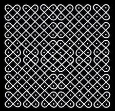 Rangoli Kolangal: Pinnal Kolangal Rangoli Kolam Designs, Rangoli Designs With Dots, Rangoli Designs Images, Kolam Rangoli, Rangoli With Dots, Beautiful Rangoli Designs, Simple Rangoli, Henna Designs, Kolam Dots