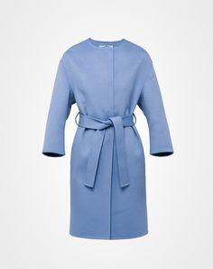 Prada Wool, Angora And Cashgora Coat