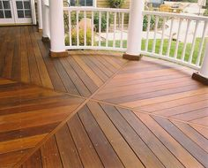 Leaning towards mangaris decking for the front deck and steps