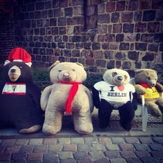 Berlin Teddies!