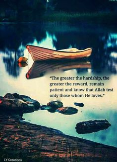 If someone passes with more trails,,,,than a person become perfect by the grace of Allah( SWT).
