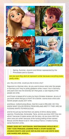 Excuse the language, but this post has a good point... and also Merida is Scotland ..Not Ireland.