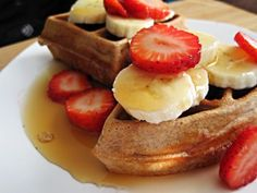 protein waffles 1