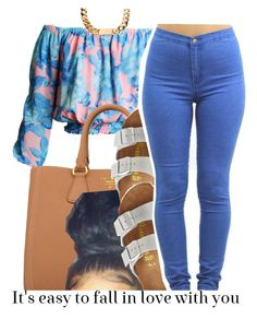 """okay."" by trinityannetrinity ❤ liked on Polyvore featuring Prada and Birkenstock"
