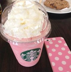Strawberry frap