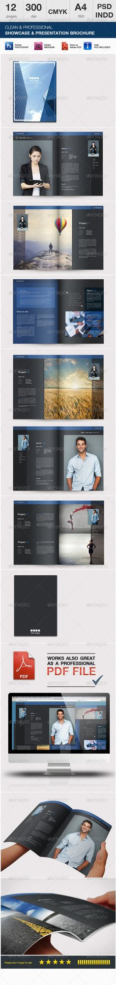1307 best minimalist brochure template images on pinterest in 2018