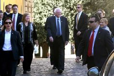 Read/listen to the Speech Bernie Sanders Gave at the Vatican