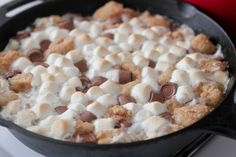 Rolo s'mores monkey bread