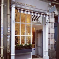 Charming Paris storefront - Aurelie Bidermann