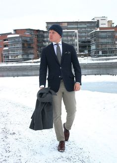 Navy and Grey - The Nordic Fit