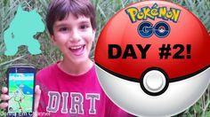#VIDEO: Pokemon GO Day # 2 - A Lure Party & Hatched Egg - Jenna Em Channel #PokemonGO #Pokemon20  WATCH: https://youtu.be/P_aFVQWLnQg