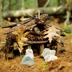 How to Build a Fairy House—a great garden project for kids!