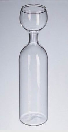 A wine glass that makes sense ~ for some of my wino friends, you know who you are ;)