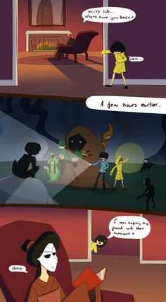 "doragonlw: "" I was helping my friends with their homework, I definitely wasn't hunting ghost children at an ungodly hour :) A piece for Little Nightmares AU: Maudlin Maw. I absolutely love this AU and hope to make more artwork for it. Comics Story, Fun Comics, Little Nightmares Fanart, Little Misfortune, Fandom Games, Horror Video Games, Scary Games, Legolas, It Goes On"