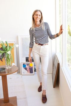 30 Perfect White Jeans Style Ideas For Women - Fashion Outfit Ideas Tilda Lindstam, Your Style, Style Me, Tommy Ton, White Denim, White Pants, Affordable Clothes, Looks Style, Look Chic