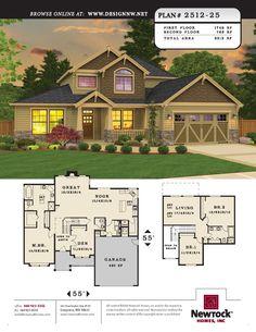Newrock Homes Plan # 2512-25 | Newrock Homes
