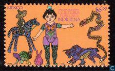 Postage Stamps - Mexico - Mexikanisches Kulturgut