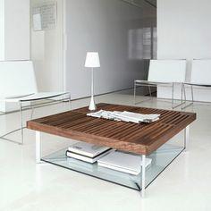 Mesas de centro minimalistas y modernas