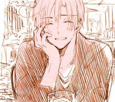 """""""Ha! That's funny """"*slightly smiles*-Romano"""