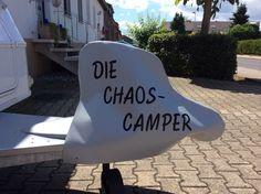 Wohnwagen Deichselhaube(Die Chaos-Camper) von Haubentraum auf DaWanda.com
