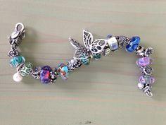 #Trollbeads Butterfly bracelet!