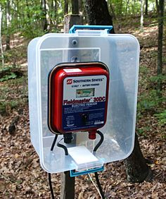 The Electric Fence Charger  weather protection