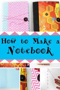 Cereal box crafts turn a cereal box into a notebook general how to make a charming and useful notebook ccuart