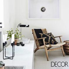 Composição em estilo escandinavo traz aconchego e simplicidade ao ambiente #revistadecor #euleiodecor #detalhes #scandinaviandesign