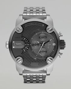 Diesel Black Chronograph Watch