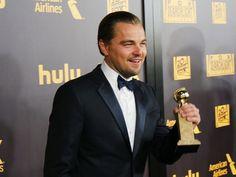 Leonardo DiCaprio Golden Globes 2016