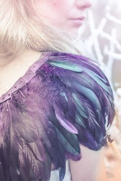 Image by www.wookiephotography.com  Vintage dreamy bride wedding photography UK photoshoot feather cape smoke bombs tattoos ethereal field Wedding Wear, Wedding Bride, Wedding Accessories For Bride, Feather Cape, Bird Costume, Fairytale Fantasies, Amazing Photography, Photography Uk, Wedding Photography