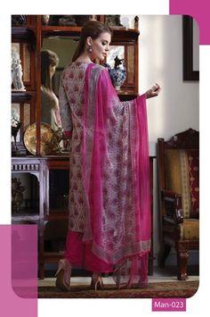 Party Wear Pink Cotton Palazzo Dress