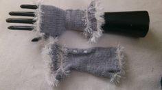Vintage style handmade fingerless gloves by MySpellboundDesigns, £7.99