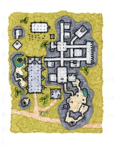 Temple Complex Friday map