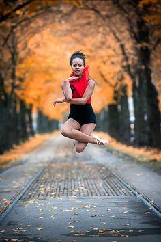 Portrait for a ballet dancer and dance teacher.