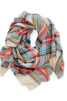 Locate in store - Aerie Blanket Scarf - American Eagle Outfitters American Eagle Outfitters, Looks Style, Style Me, Fall Outfits, Cute Outfits, Plaid Blanket Scarf, Cozy Scarf, Cute Scarfs, Moda Vintage