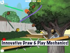 Draw the best route to help Shearl the Squirrel ride the line to get home with her gold acorns! Fun line rider game for all ages! Innovative game mechanics. Multiple levels and challenges. - http://fatredcouch.com/Charlie_and_Shearls_Acorn_Hero