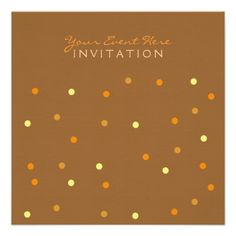 Thanksgiving Holiday Party Invitation