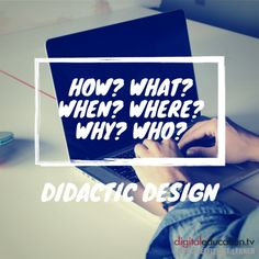 3 tips for #didactic #design of e-learning content — digitaleducation.tv - einfach.effizient.lernen mit Video-Trainings in SCORM E Learning, Videos, Letter Board, Challenges, Training, Business, Tips, Design, Further Education