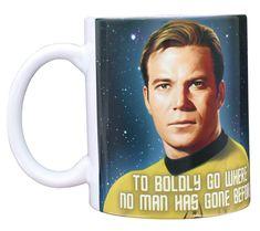 Star Trek Party, Star Trek Poster, Star Trek Merchandise, Disney Coffee Mugs, Color Changing Coffee Mug, Refreshing Drinks, For Stars, Office Parties, Pop Culture