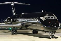 Simple, Clean and Sexy Color for a private jet.