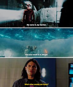 """What other worlds are there?"" - Cisco and Jay #TheFlash"
