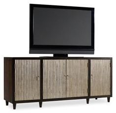 FOUR DOOR ENTERTAINMENT CONSOLE :: CONSOLES, CABINETS & DRAWER CHESTS :: Furniture for every room in your home - and patio! :: Union