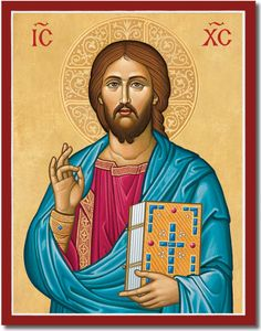 Monastery Icons provides a large collection of icons of Christ, including this latest addition our Byzantine Christ icon. Catholic Pictures, Pictures Of Christ, Church Pictures, Jesus Christ Images, Byzantine Art, Byzantine Icons, Religious Images, Religious Icons, Monastery Icons
