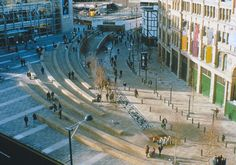 Exchange Square, Manchester, UK. Landscape Architecture by Martha Schwartz…