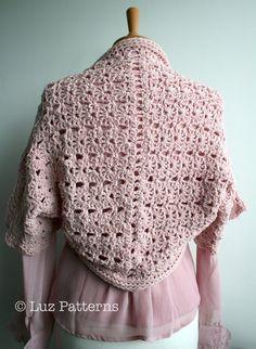 Crochet PATTERN  bolero crochet pattern women girls by LuzPatterns, $4.99